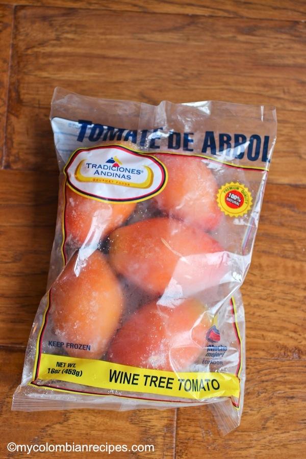 Dulce de Tomate de Arbol (Tree Tomato in Syrup)