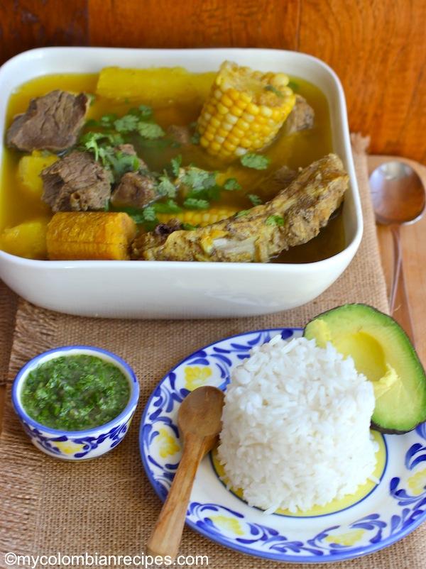 Sancocho Antioqueño o Paisa (Paisa Region Soup) |mycolombianrecipes.com