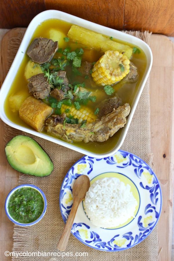 Sancocho Antioqueño o Paisa (Paisa Region Soup) |mycolombianrecipes ...