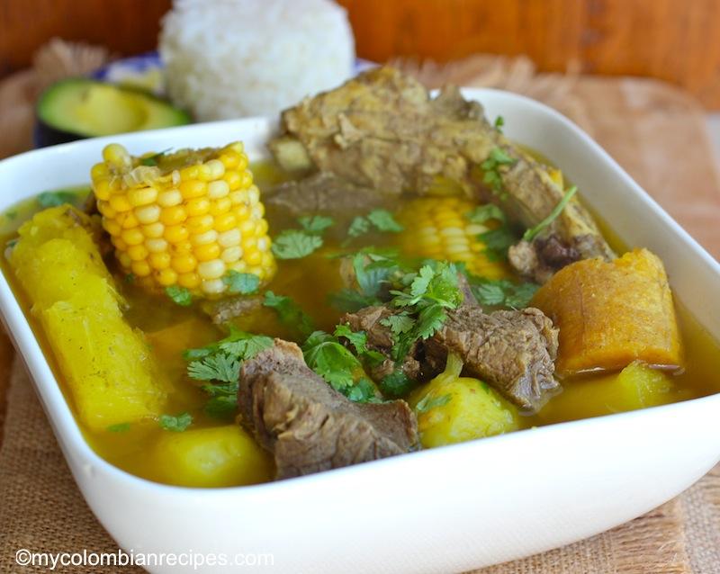 Sancocho Antioqueño o Paisa (Paisa Region Soup)