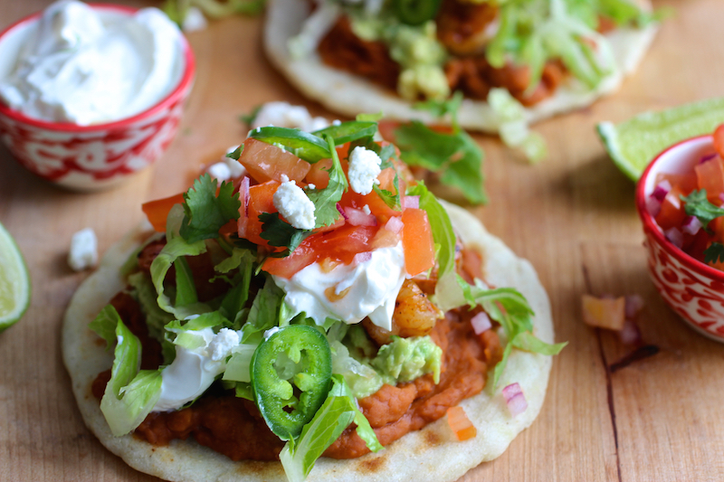 Mexican Style Arepas