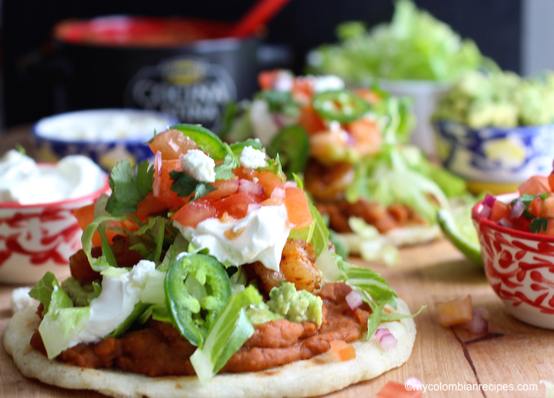 Shrimp Arepas Recipes — Dishmaps