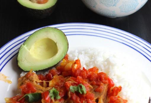 """<span class=""""p-name"""">Chuletas de Cerdo a la Criolla (Pork Chops in Creole Sauce)</span>"""