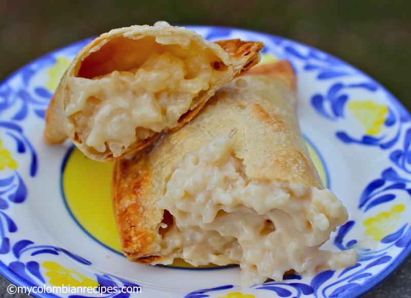 Empanadas de Arroz con Leche (Rice Pudding Empanadas) | My Colombian ...