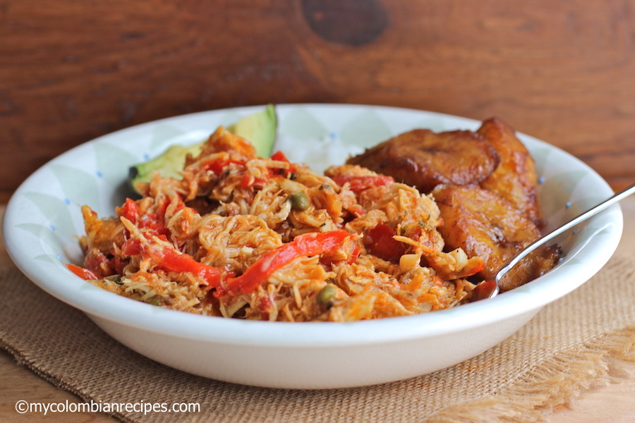 Chicken Ropa Vieja | My Colombian Recipes
