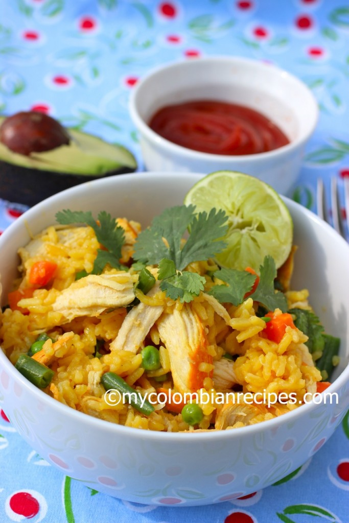 Arroz con Pollo - Colombian Rice Dishes