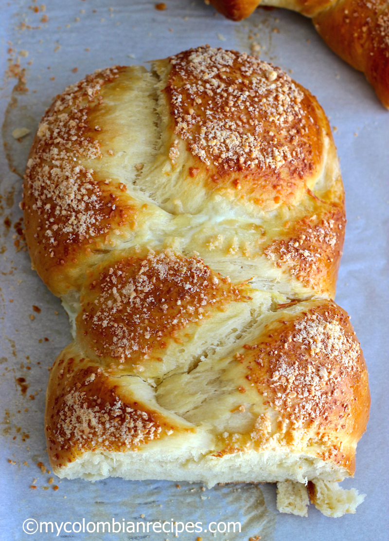Pan Trenza Braided Bread My Colombian Recipes