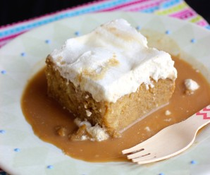 Tres Leches de Café (Coffee Three Milks Cake) |mycolombianrecipes.com
