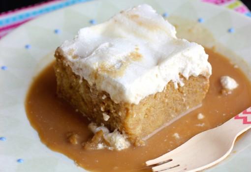 Tres Leches de Café (Coffee Three Milks Cake) |mycolombianrecipes.com