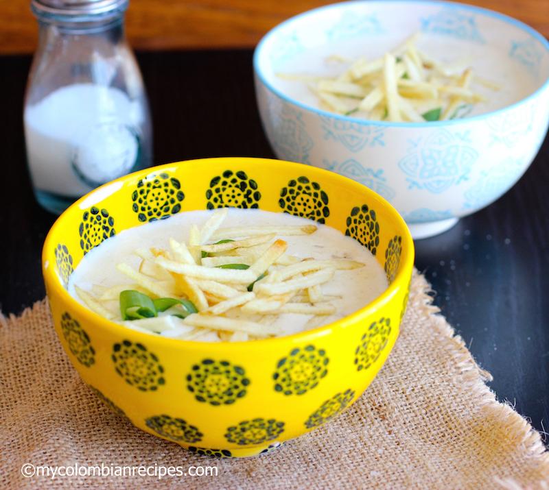 Crema de Avena (Creamy Oatmeal Soup)