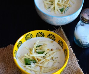 Crema de Avena (Creamy Oatmeal Soup) |mycolombianrecipes.com
