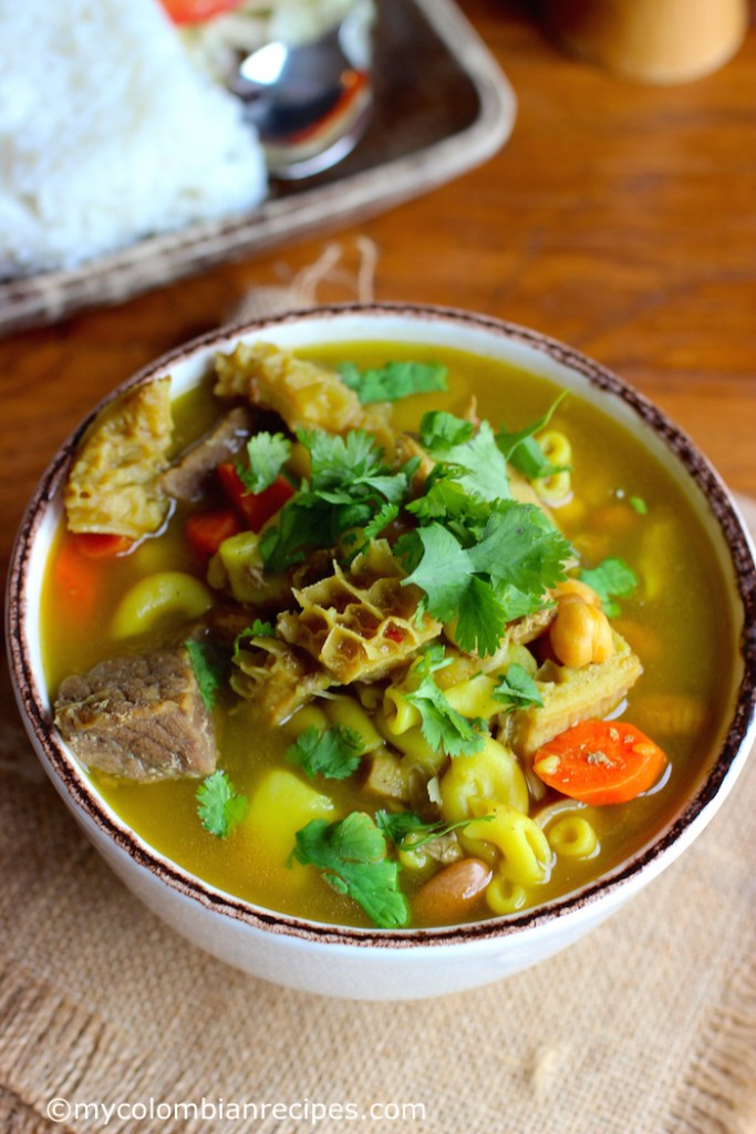 Mute Santandereano (Santander-Style Soup)