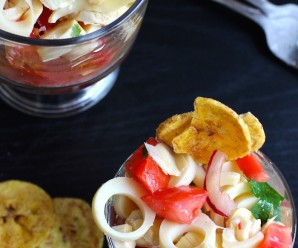 Ceviche Vegetariano (Vegetable Ceviche) |mycolombianrecipes.com