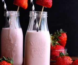 resa Colada (Strawberry Colada) |mycolombianrecipes.com