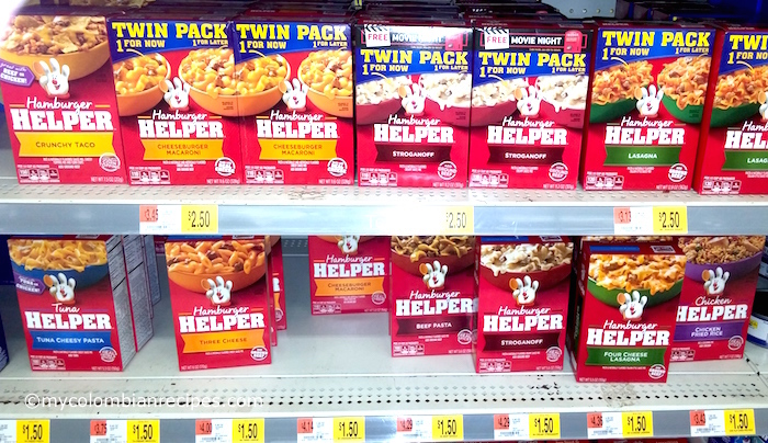 Three Cheese Hamburger Helper® Stuffed Poblano Peppers