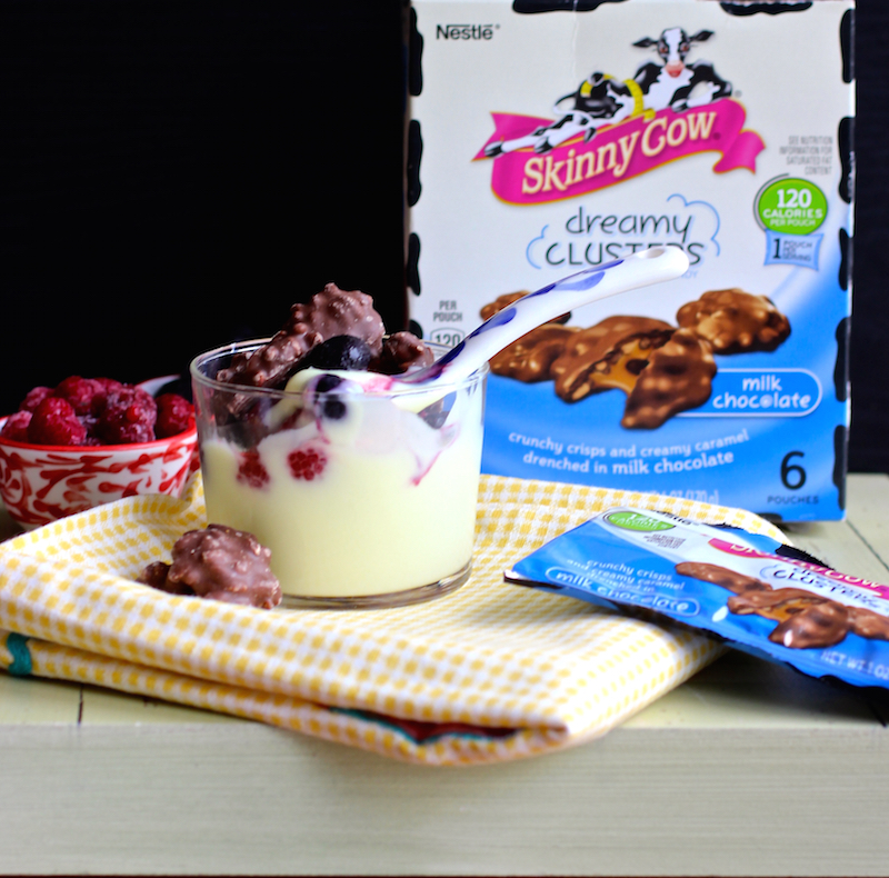 Skinny Cow® Milk Chocolate Dreamy Clusters and Giveaway |mycolombianrecipes.com