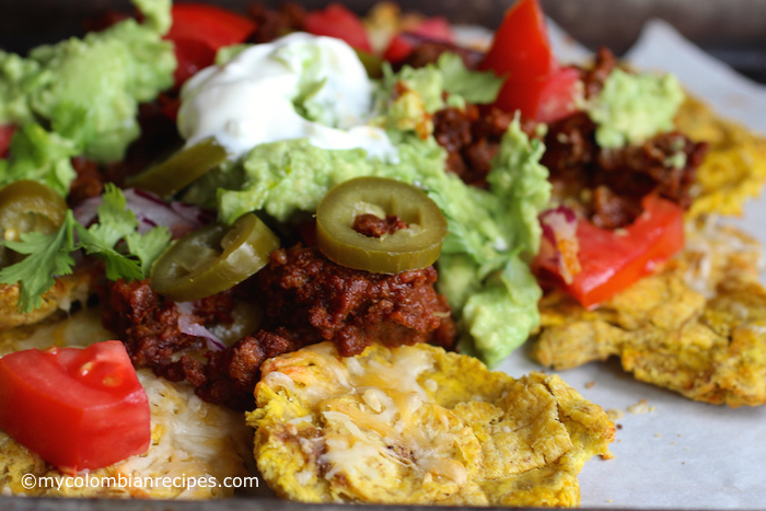 Patacón Loaded Nachos