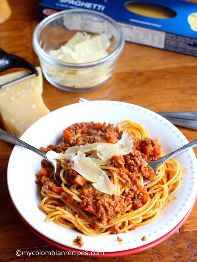 Barilla® Spaghetti with San Marzano Tomato Meat Sauce