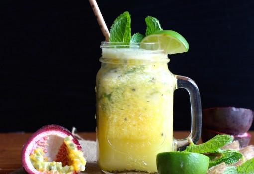 Mango and Passion Fruit Mojito |mycolombianrecipes.com