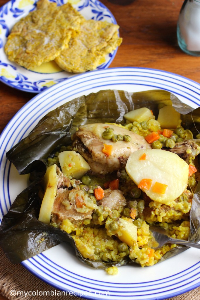 pastel de arroz costeño (Atlantic Coast Tamal) |mycolombianrecipes.com