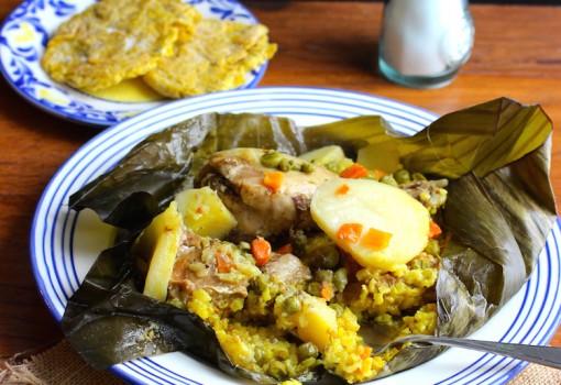 Pasteles de Arroz (Rice Tamales) |mycolombianrecipes.com