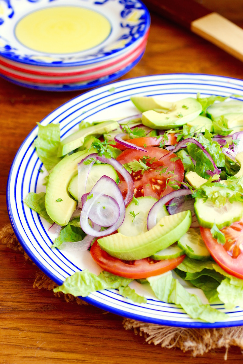 Simple Side Salad My Colombian Recipes