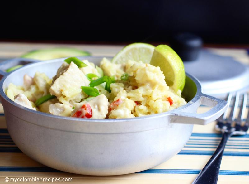 Arroz Atollado de Pescado (Colombian-Style Creamy Fish Rice)