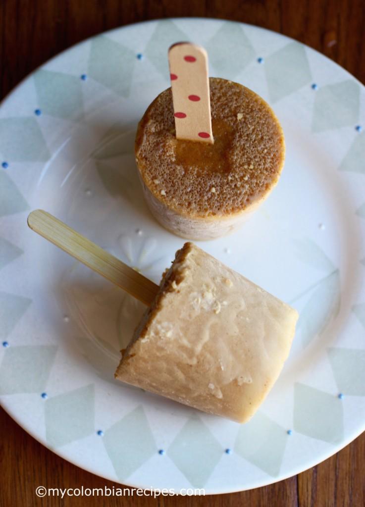 Pumpkin-Coconut Popsicles (Paletas de Calabaza y Coco)