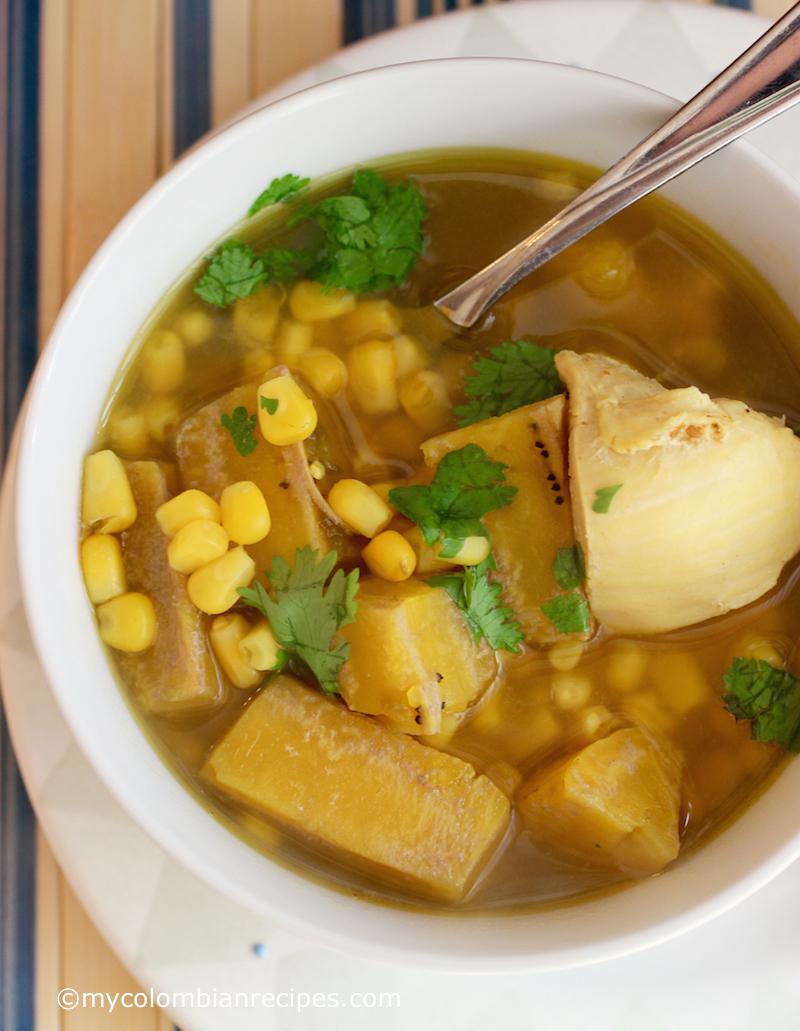 Sopa de Pollo y Plátano Verde (Chicken and Green Plantain Soup) | My ...