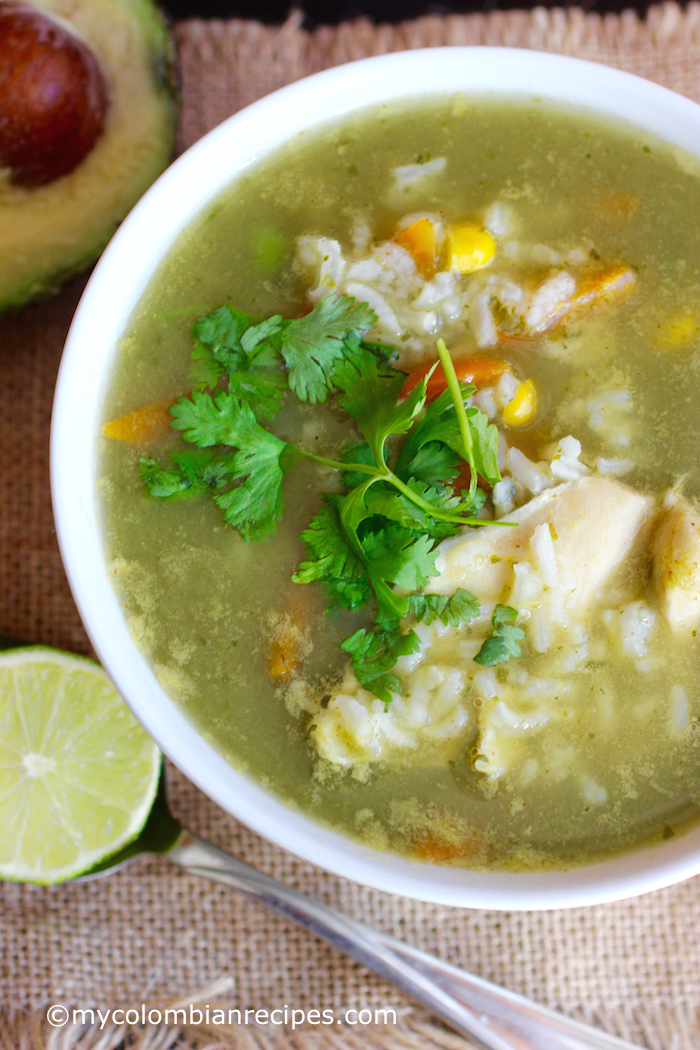 Cilantro Lime Rice And Chicken Soup Mycolombianrecipes Com