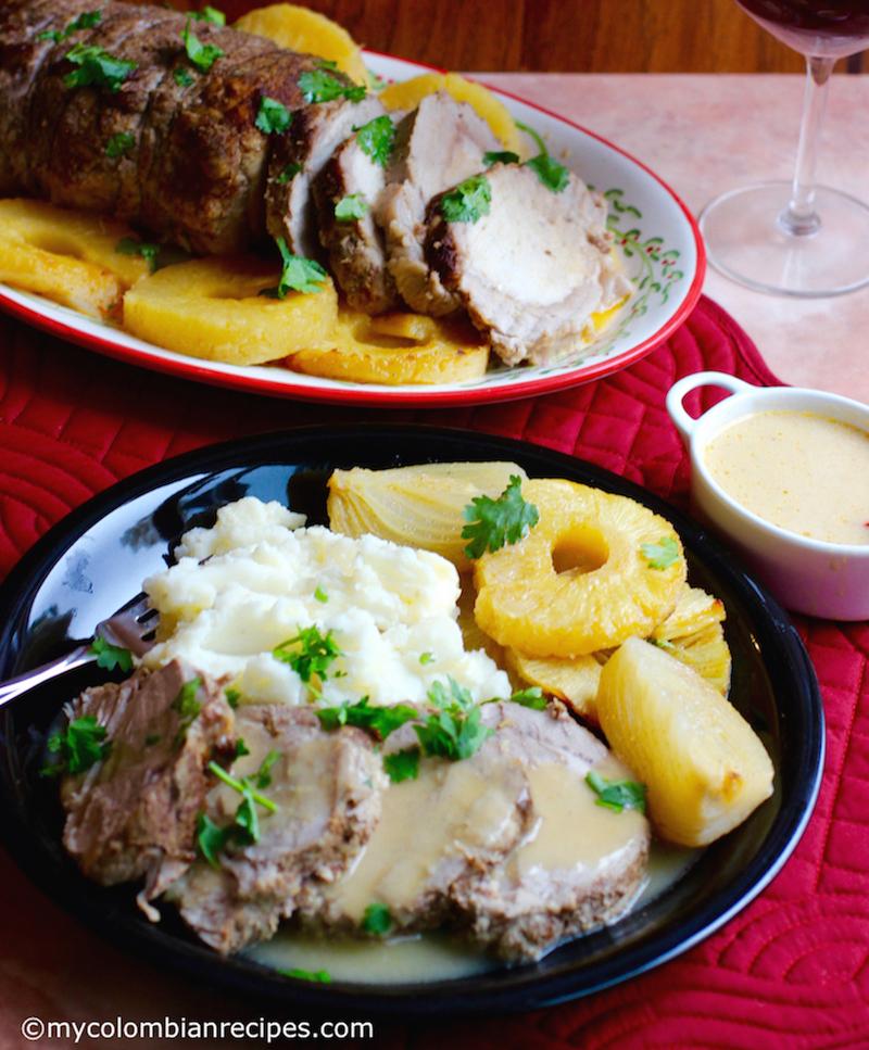 Pineapple Roasted Pork Loin