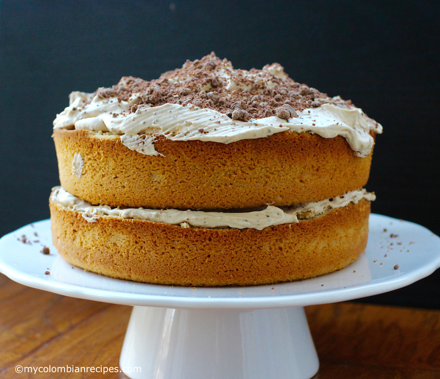 Torta de Café (Coffee Flavored Cake) |mycolombianrecipes.com