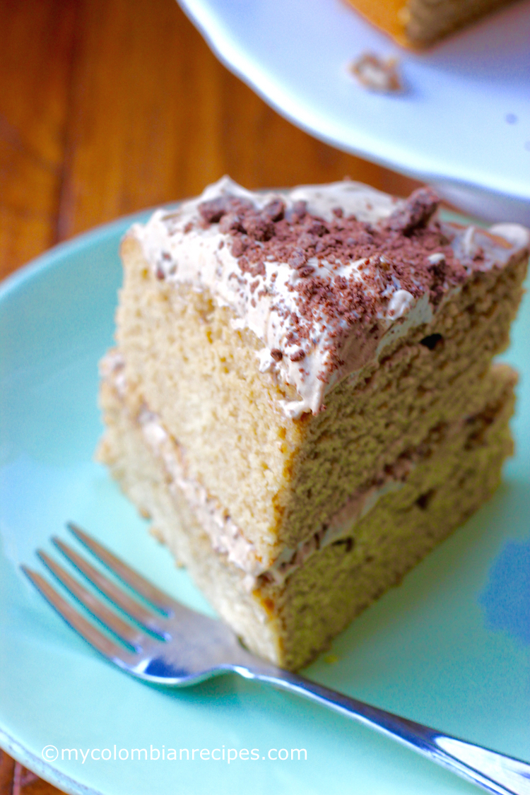 Torta De Caf 233 Coffee Flavored Cake My Colombian Recipes