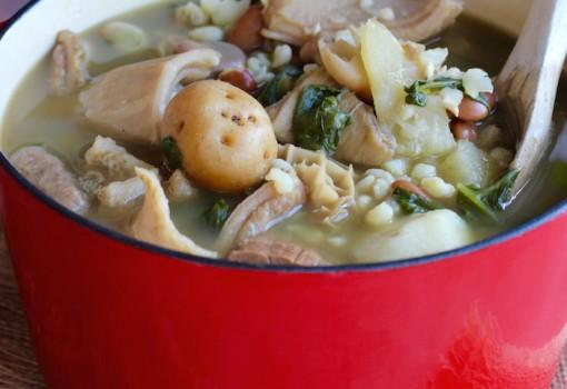 Mazamorra Chiquita (Boyaca Region Soup) |mycolombianrecipes.com