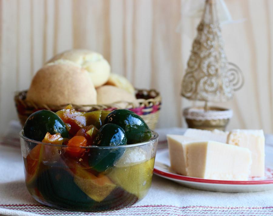 Dulce de Noche Buena (Christmas Eve Dessert)