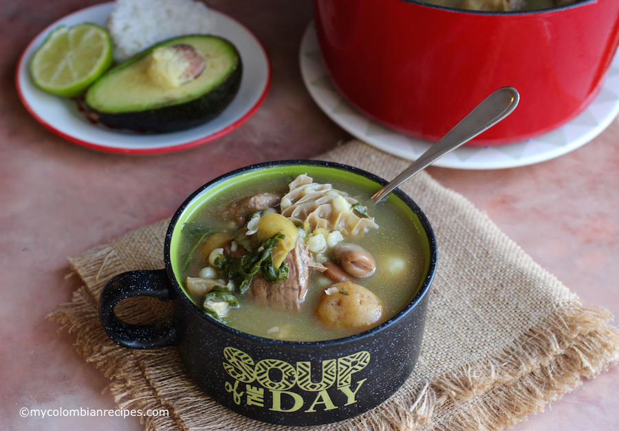 Mazamorra Chiquita (Colombian Soup)