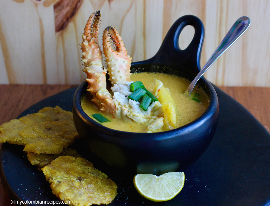Sopa de Cangrejo (Crab and Coconut Soup)