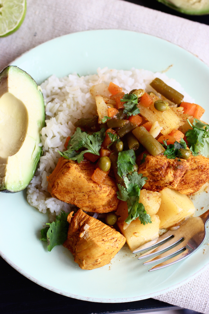 Chicken and Vegetable Stew | My Colombian Recipes