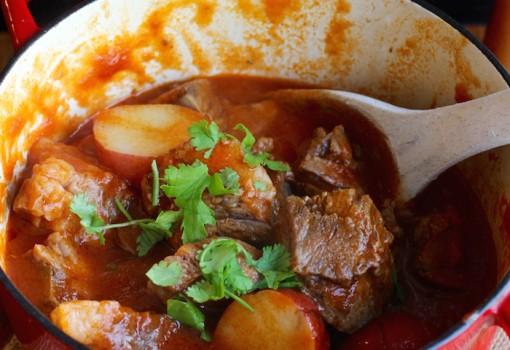 Beef Cheek Stew (Estofado de Cachetes de Res) |mycolombianrecipes.com