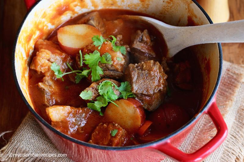 Beef Cheek Stew (Estofado de Cachetes de Res)