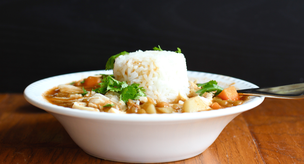 Lentil and Chicken Soup