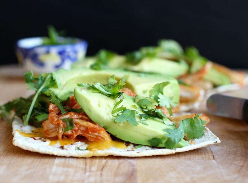 Avocado Chicken Pizza