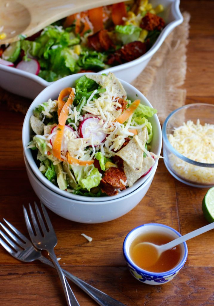 Longaniza Taco Salad