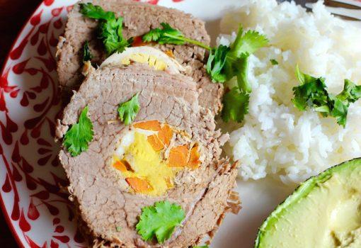 Capón Relleno (Stuffed Beef)