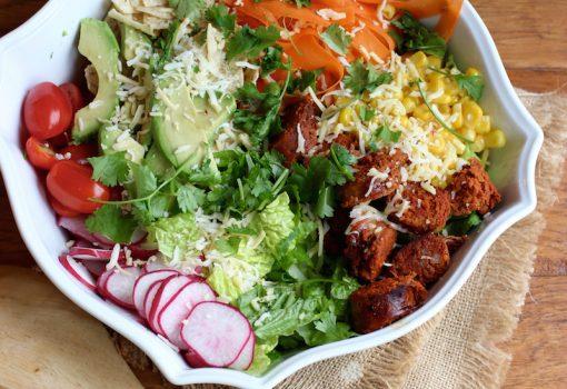 """<span class=""""p-name"""">Longaniza Taco Salad</span>"""