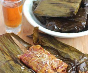 Plantain Recipes- Envuelto de Platano Maduro