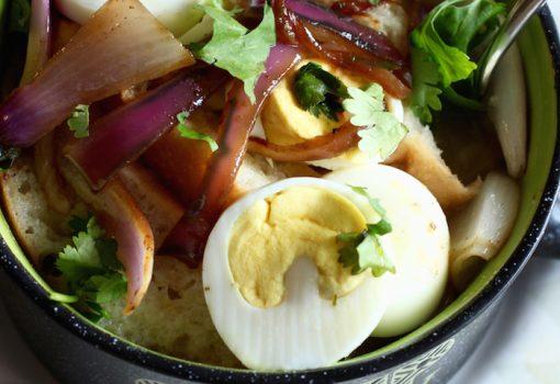 Sopa Seca Colombiana (Colombian Bread Soup)