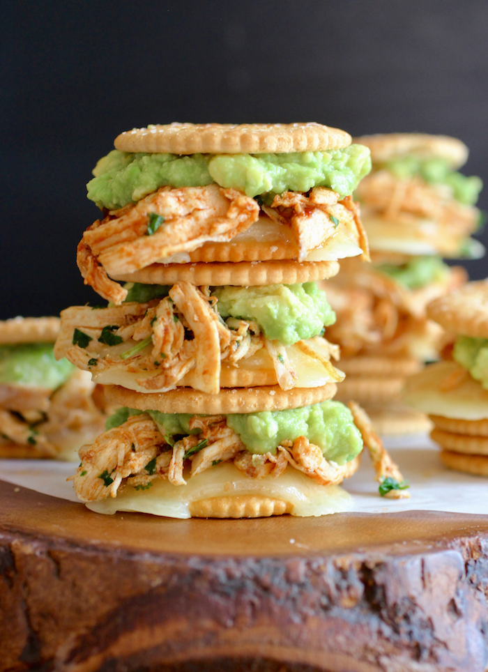 Shredded Chipotle Chicken RITZwich
