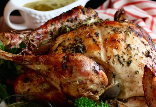 "<span class=""p-name"">Chimichurri Butter Roasted Turkey</span>"