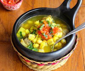 Sopa de Mute Colombiana